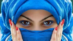Arab Scarf Girl HD Quality 13