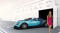Bugatti Veyron At The Factory With Nina Agdal Mdash Izobrazhenie 113606 Meta Propertyogurl Cont