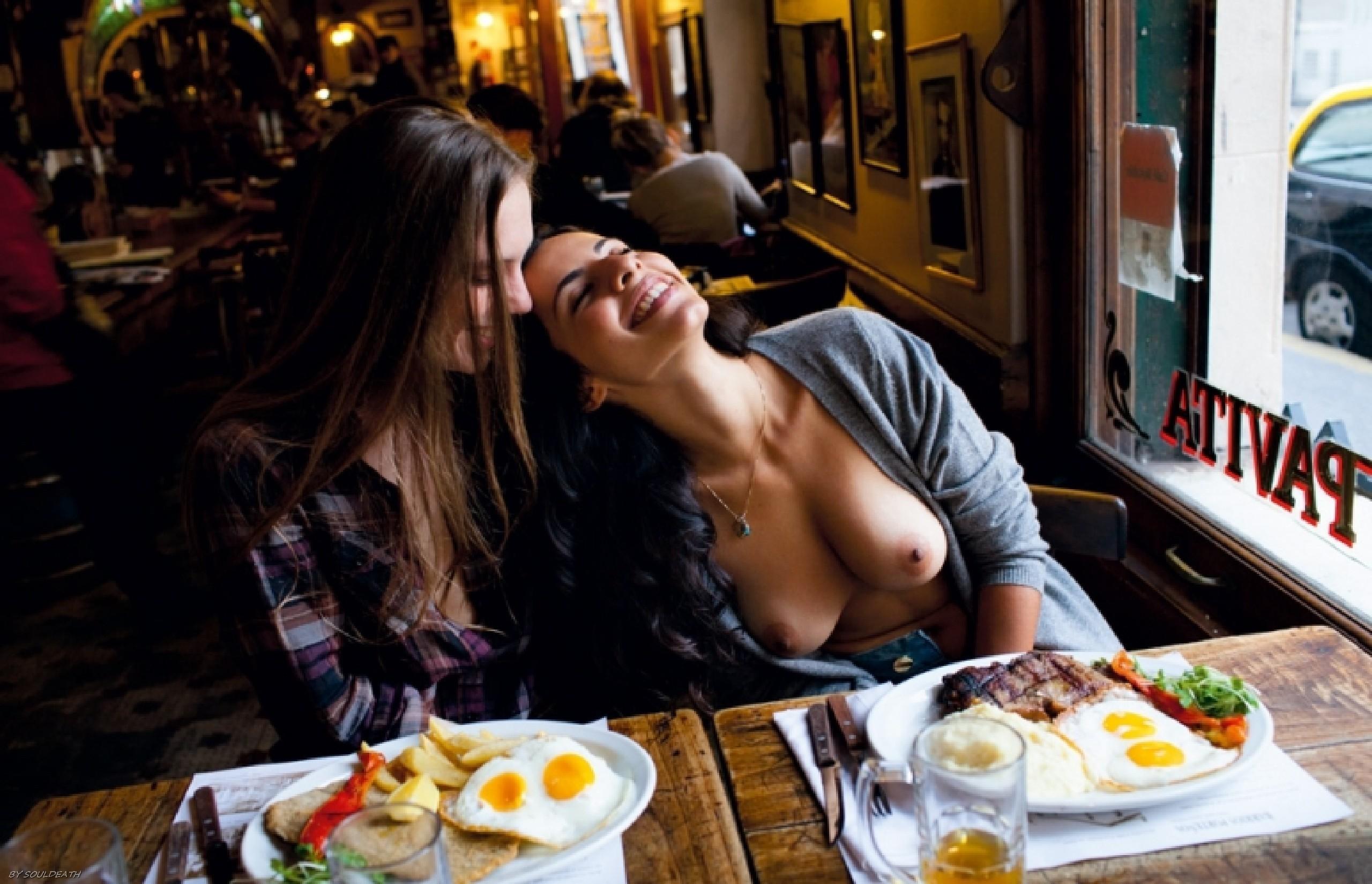 Эротика в ресторан, порно фильмы с красивыми моделями пентхауса
