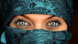 Eyes Woman Burqa Arabic 20