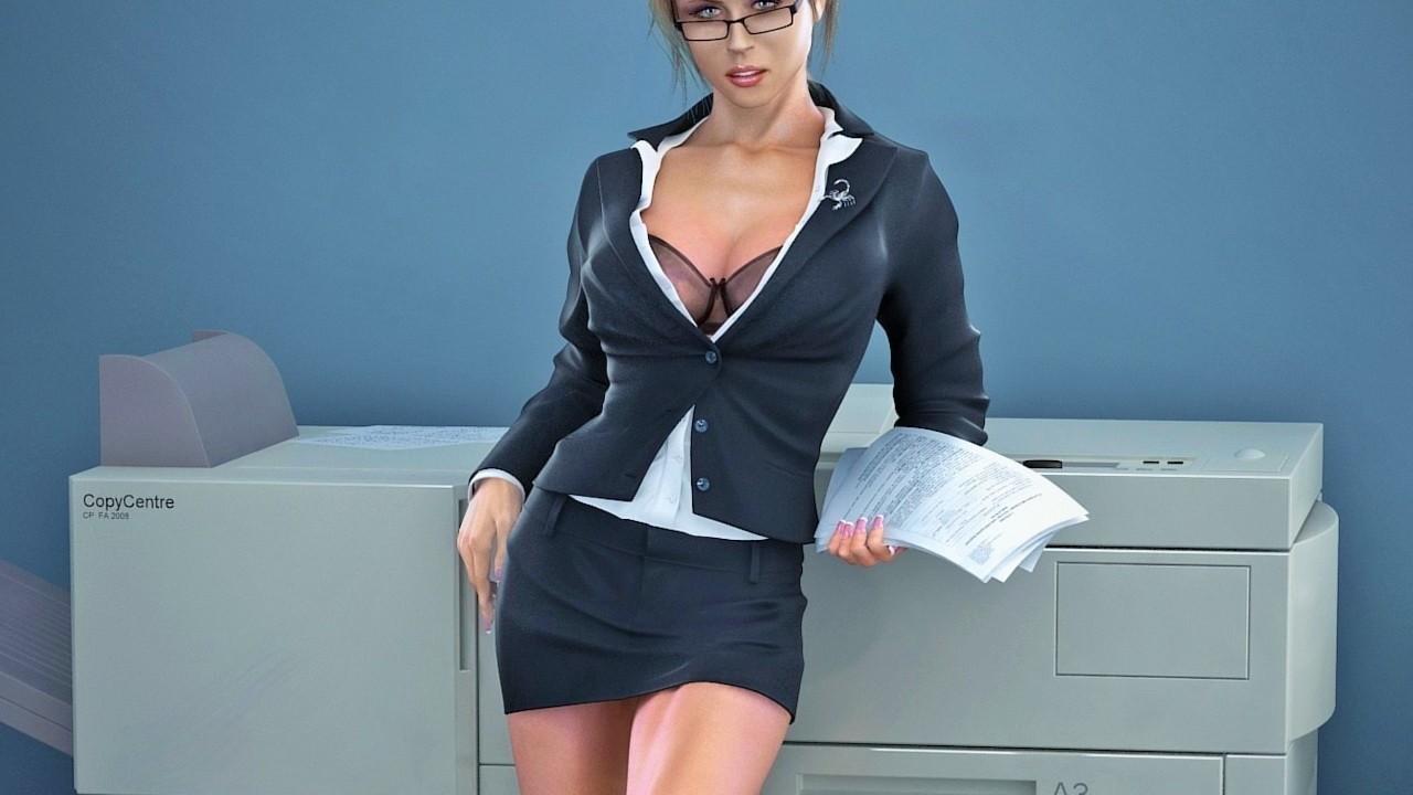 Трахнул прямо на рабочем месте, Порно в офисе. Секс с секретаршей 5 фотография