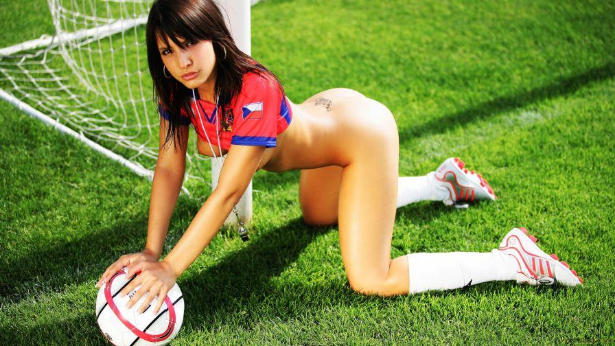 голый футбол еротика