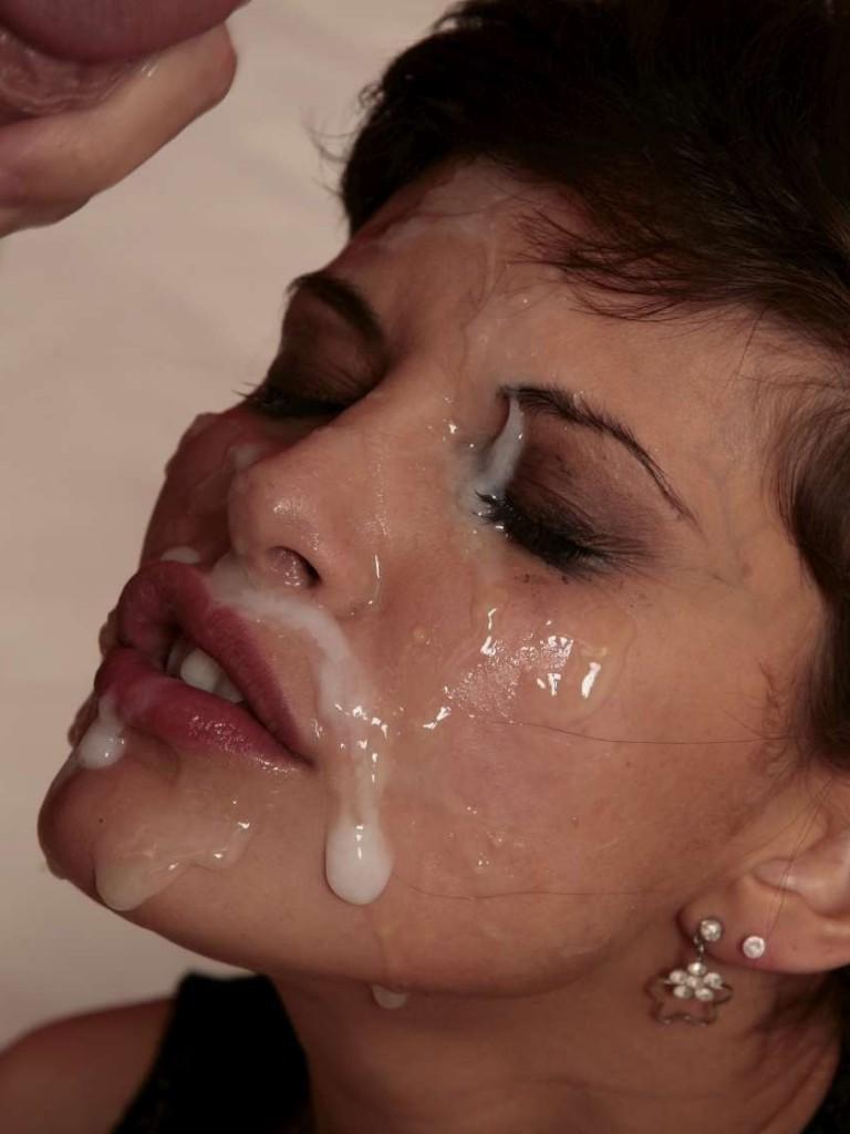 Сперма залитье лица бесплатно фото 741-481
