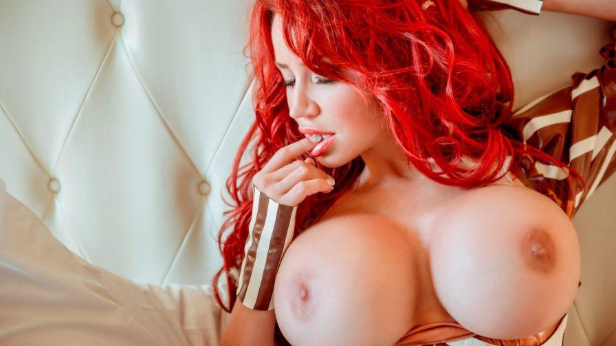 Busty Redhead Bianca Beauchamp Tiava 1